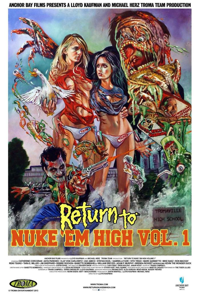 Return To Nuke 'em High V1 Poster